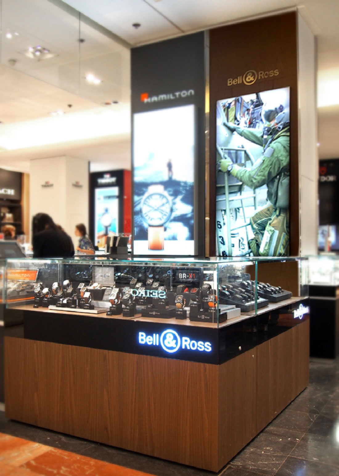DCA_Bell&Ross Agencement point vente